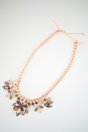Bijou Flower Motif Necklace商品画像 : PLAY ROOM│プレイルーム公式通販サイト