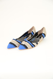 Paint Stripe Low Heel Panpus商品画像 : PLAY ROOM│プレイルーム公式通販サイト