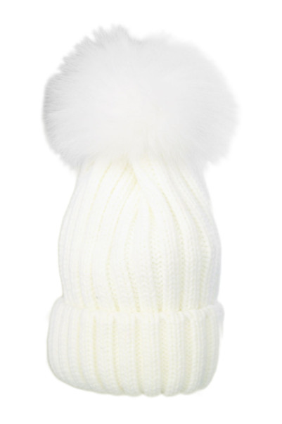 1Color Fur Knit Cap商品画像 1 : PLAY ROOM│プレイルーム公式通販サイト