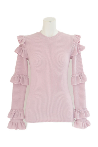 Frill Tight Knit商品画像 1 : PLAY ROOM│プレイルーム公式通販サイト