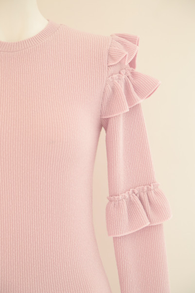 Frill Tight Knit商品画像 5 : PLAY ROOM│プレイルーム公式通販サイト