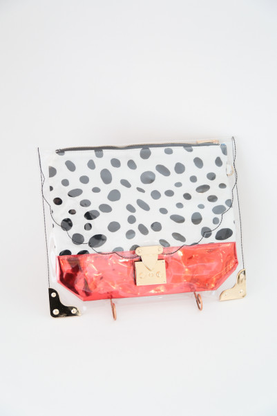 Clear Print POP CLUTCH /SARAH&BRED商品画像 2 : PLAY ROOM│プレイルーム公式通販サイト