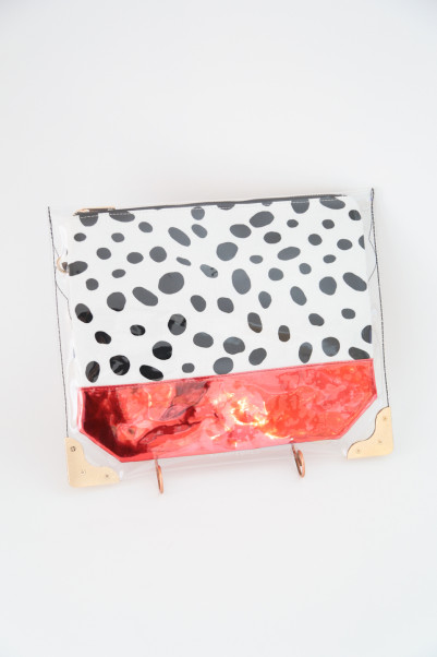 Clear Print POP CLUTCH /SARAH&BRED商品画像 3 : PLAY ROOM│プレイルーム公式通販サイト