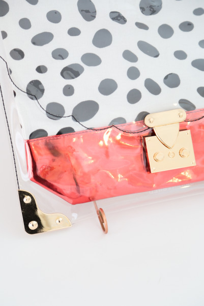 Clear Print POP CLUTCH /SARAH&BRED商品画像 4 : PLAY ROOM│プレイルーム公式通販サイト