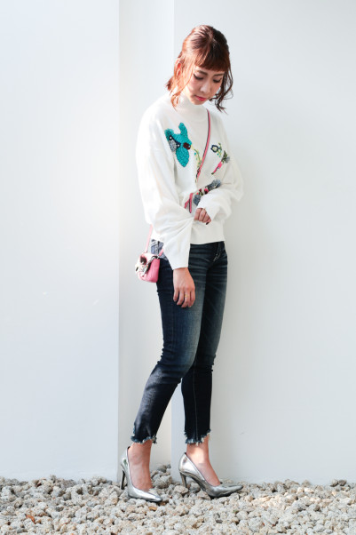 Botanical Embroidery Knit【Re.Verofonna】商品画像 2 : PLAY ROOM│プレイルーム公式通販サイト