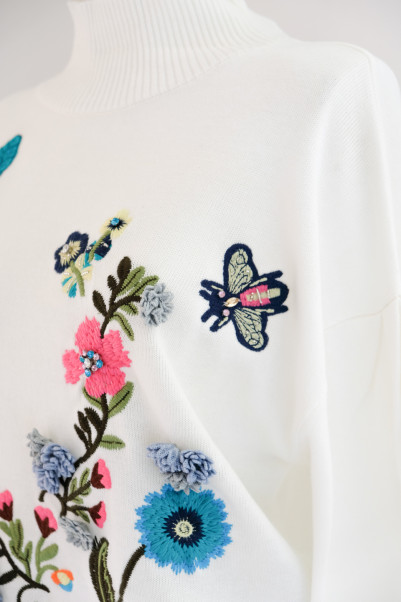 Botanical Embroidery Knit【Re.Verofonna】商品画像 5 : PLAY ROOM│プレイルーム公式通販サイト
