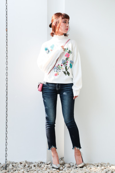 Botanical Embroidery Knit【Re.Verofonna】商品画像 6 : PLAY ROOM│プレイルーム公式通販サイト