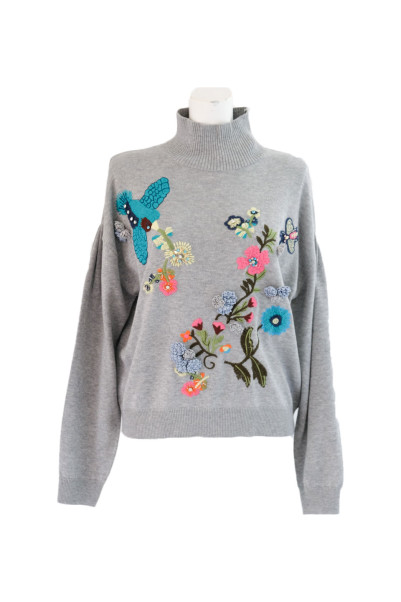 Botanical Embroidery Knit【Re.Verofonna】商品画像 1 : PLAY ROOM│プレイルーム公式通販サイト