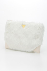 fur clutch bag商品画像 : PLAY ROOM│プレイルーム公式通販サイト
