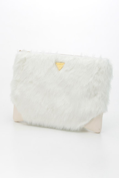 fur clutch bag商品画像 1 : PLAY ROOM│プレイルーム公式通販サイト