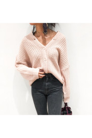 Drop Shoulder Knit Cardigan商品画像 : PLAY ROOM│プレイルーム公式通販サイト