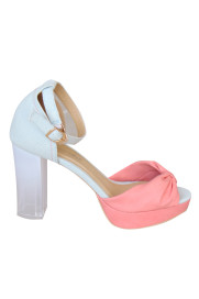 Clear Sole Ribbon Sandal( SOLO&DOUBLE )商品画像 : PLAY ROOM│プレイルーム公式通販サイト